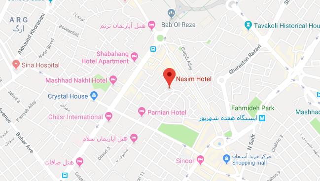 تنسیم در مشهد - تور اصفهان مشهد | مشهد تریپ