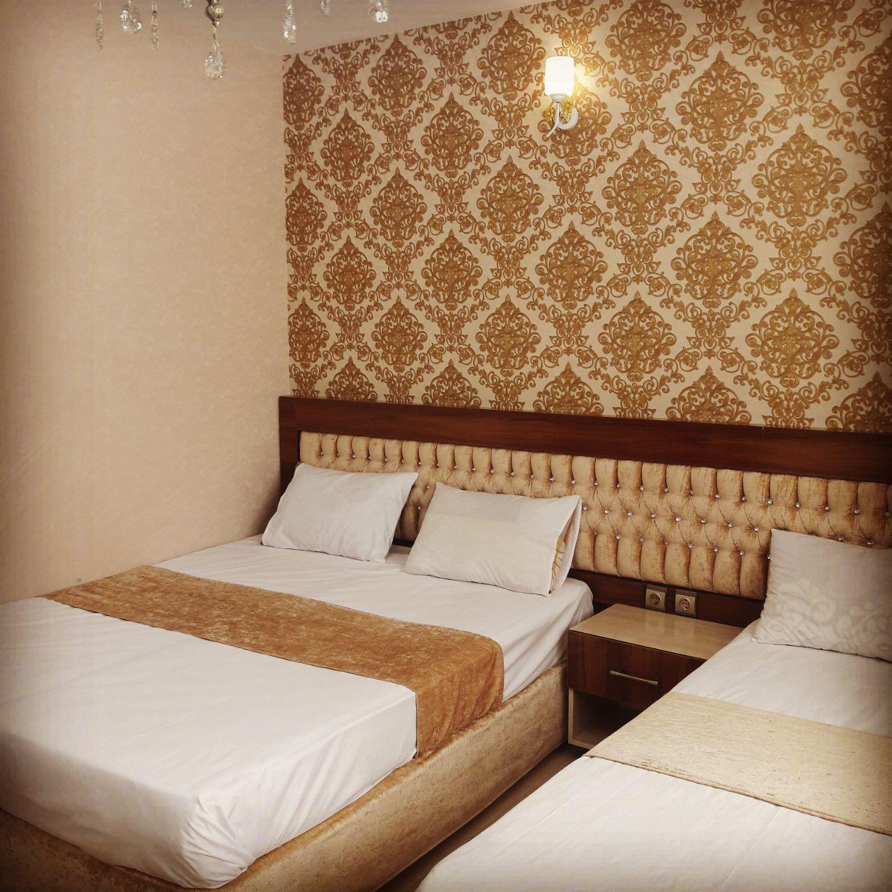 اتاق های هتل ربانی