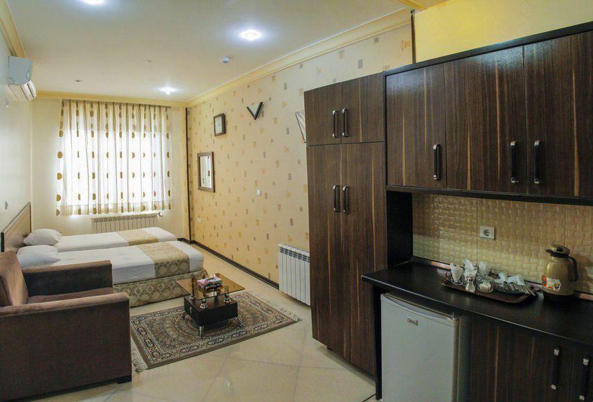اتاق های هتل ایوان مشهد