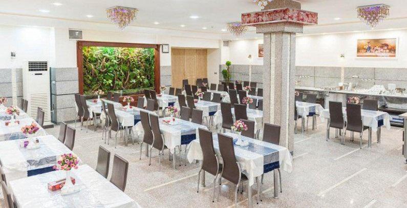 رستوران هتل ایوان مشهد