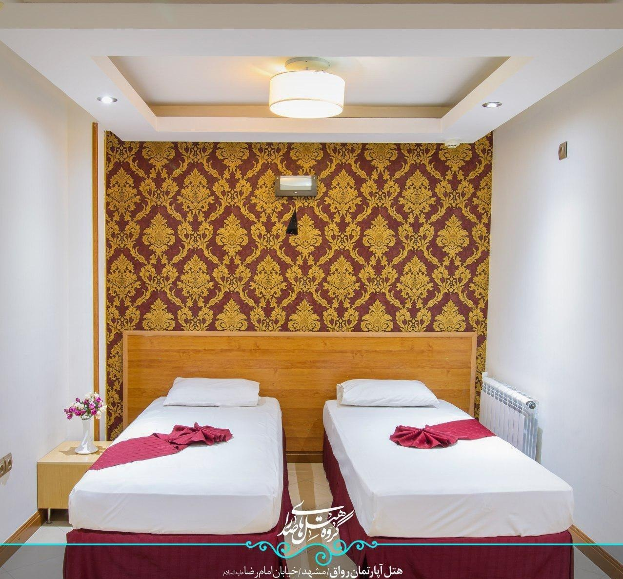 اتاق های هتل رواق مشهد