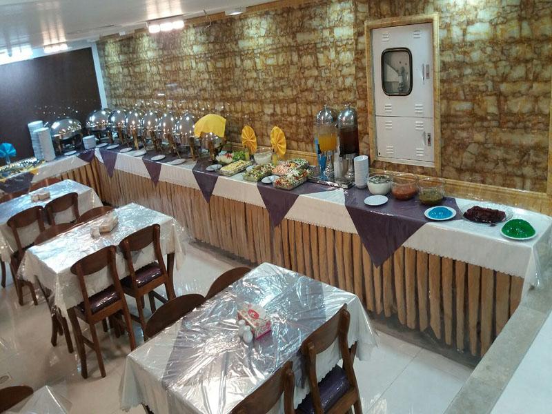 رستوران هتل ابشار مشهد