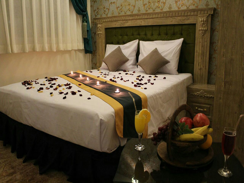 اتاق دو تخته هتل ابشار