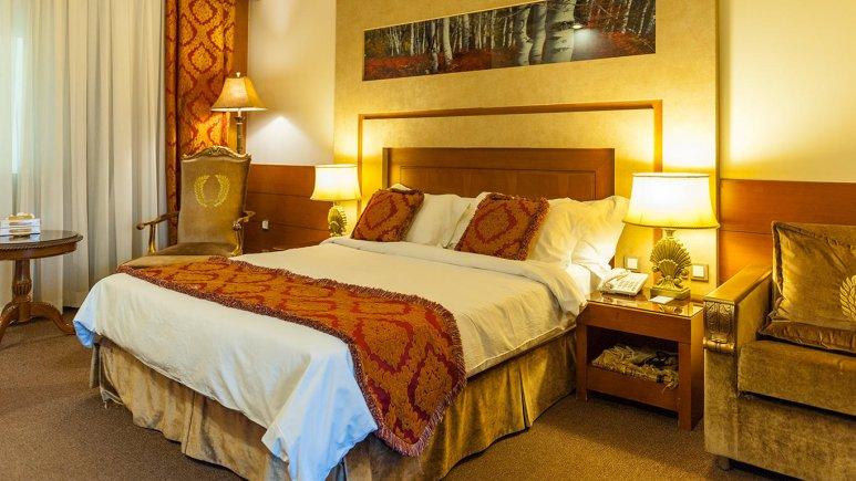 اتاق های هتل درویشی مشهد