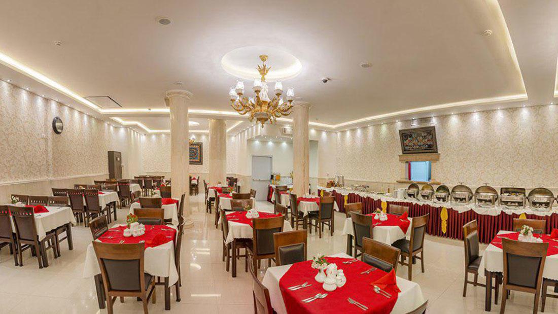 رستوران هتل سهند مشهد